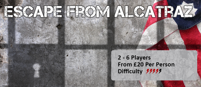 Book Now - Escape From Alcatraz